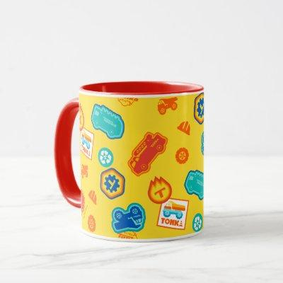Tonka Soft Retro | Trucks & Symbols Badge Pattern Mug