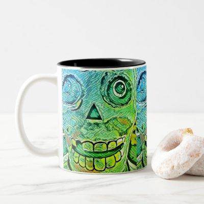 Too Late! Two-Tone Coffee Mug
