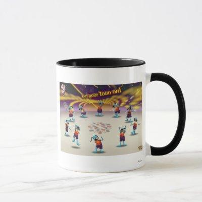 "Toontown ""Get Your Toon On!"" Poster Disney Mug"