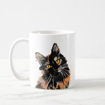 Tortoiseshell Cat Mug