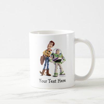 Toy Story 3 - Buzz & Woody Coffee Mug