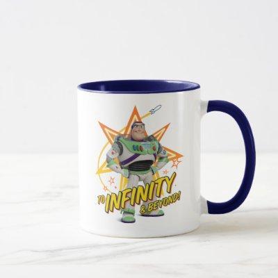"Toy Story 4   Buzz ""To Infinity & Beyond"" Stars Mug"