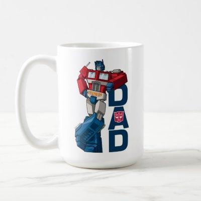 Transformers Father's Day - Optimus Prime Dad Coffee Mug