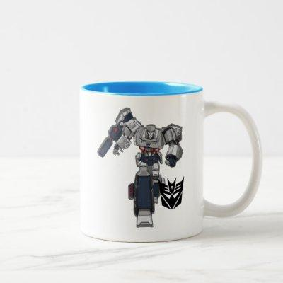 Transformers | Megatron Walking Pose Two-Tone Coffee Mug