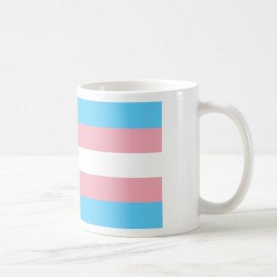 Transgender Pride Flag - LGBT Rainbow Coffee Mug