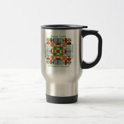 Travel mug for Grassy Creek