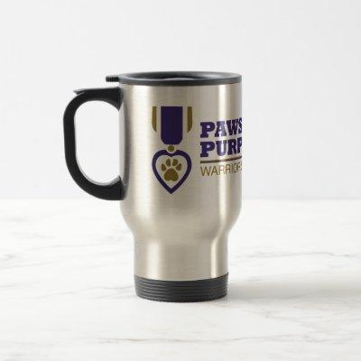 Travel Mug - Metal w Color Logo