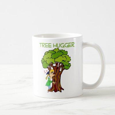 Tree Hugger - Girl Coffee Mug