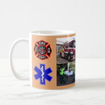 Tribute Mug - Firefighters & EMT's