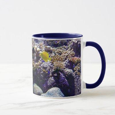 Tropical Fish in Coral Reef Mug