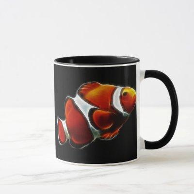 Tropical Orange Clownfish Clown Fish Mug