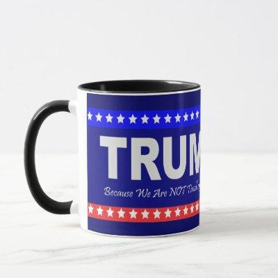 TRUMP 2020 Black 11 oz Combo Mug