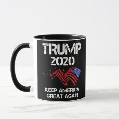 Trump 2020 Keep America Great Again Mug