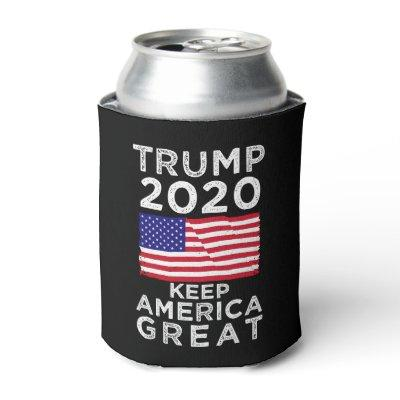 Trump 2020 : Keep America Great Can Cooler