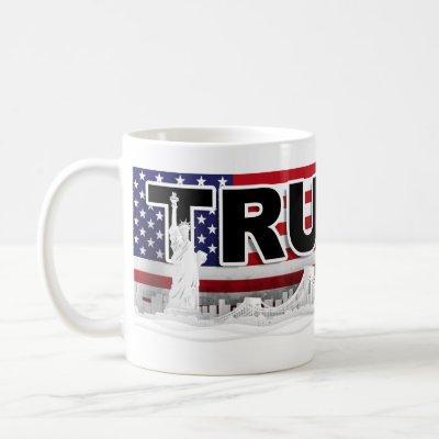 Trump 2020 NYC Skyline Coffee Mug