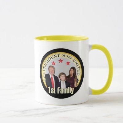 TRUMP First Family Mug