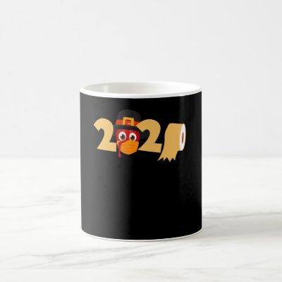 Turkey Happy Thanksgiving 2020 Coffee Mug