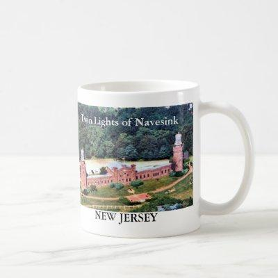 Twin Lights of Navesink, New Jersey Mug