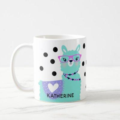 Two Pretty Llama Ladies Coffee Coffee Mug