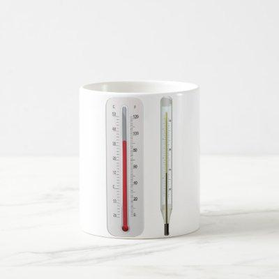 Two Thermometers Mug