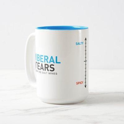 Two-Tone Mug 15ox Liberal Tears Meter