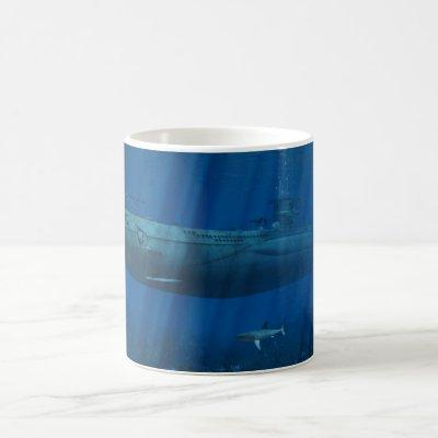 U99 Submarine Coffee Mug