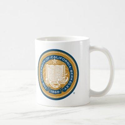 UC Berkeley School Seal Coffee Mug