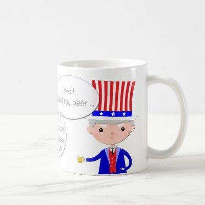 UK: Worse Than Brexit? US: Hold My Beer • Trump Coffee Mug
