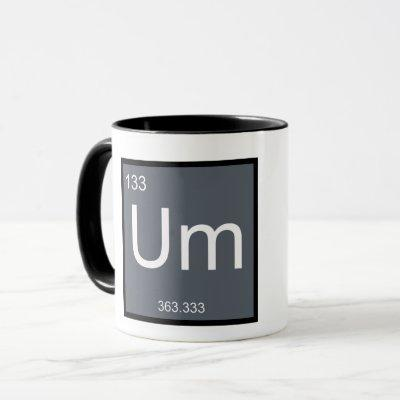 Um, the Element of Confusion – Mug