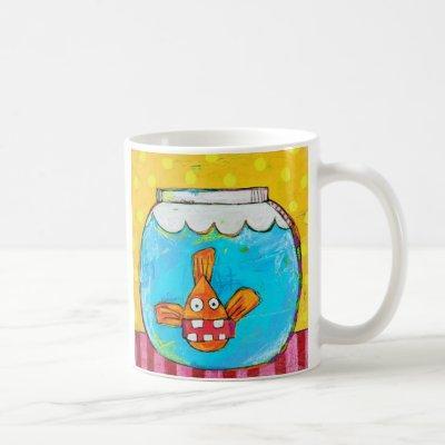 Unhinged Goldfish Mug
