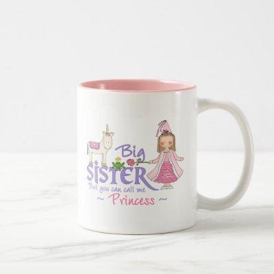 Unicorn Princess Two-Tone Coffee Mug