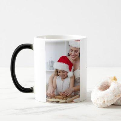 Unique gift | fill with hot water to reveal image magic mug