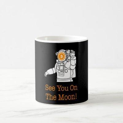 Unqiue Bitcoin Design Coffee Mug