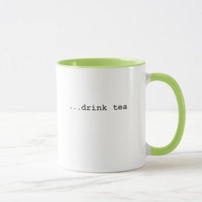 User Story - Drink Tea Mug