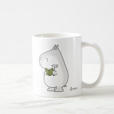 Vaguely Competent Hippo by Sandra Boynton Coffee Mug