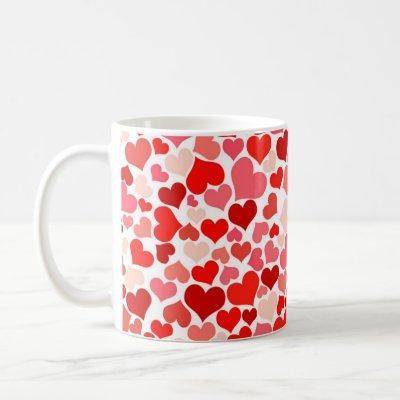 Valentine's Day - Hearts Coffee Mug