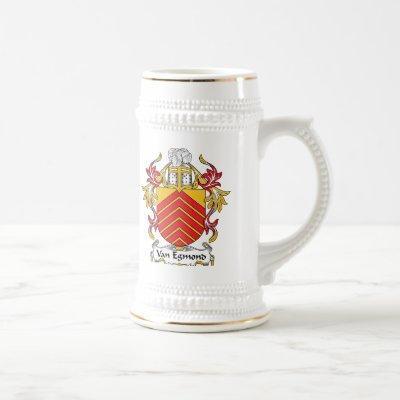 Van Egmond Family Crest Beer Stein