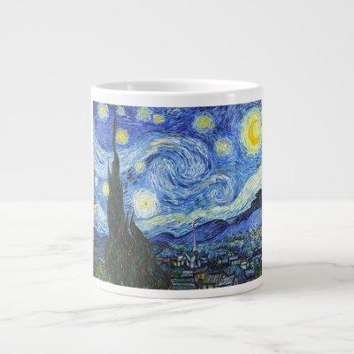 VAN GOGH Starry Night Large Coffee Mug