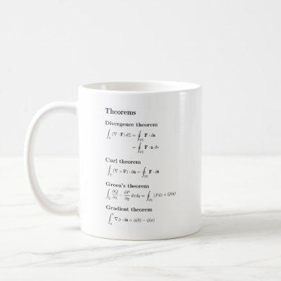 Vector calculus mug