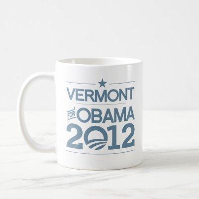 VERMONT FOR OBAMA 2012.png Coffee Mug