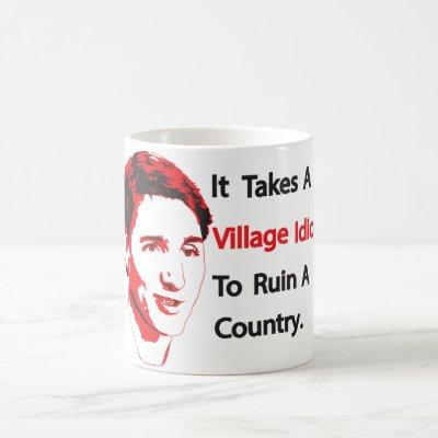 Village Idiot. Coffee Mug