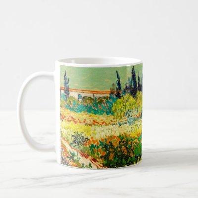 Vincent Van Gogh Garden at Arles Coffee Mug