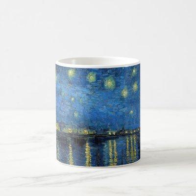 Vincent Van Gogh - Starry Night Over the Rhone Coffee Mug