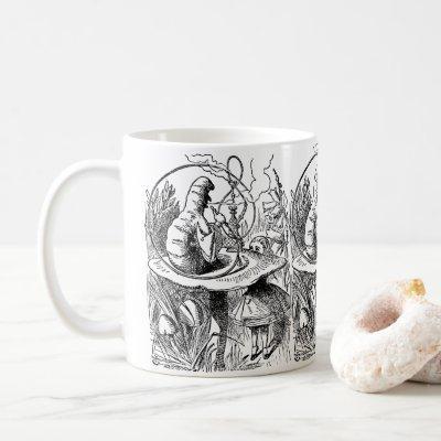 Vintage Alice in Wonderland Hookah Caterpillar Coffee Mug