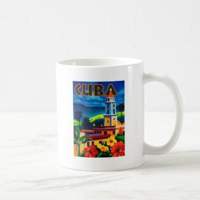 Vintage Cuba Travel Coffee Mug