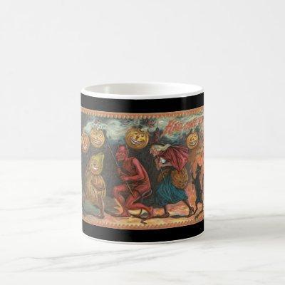 Vintage Halloween Coffee Mug