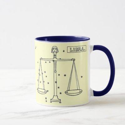 Vintage Image - Zodiac - Libra Mug