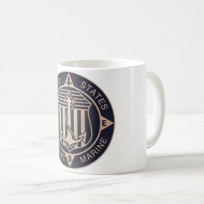 Vintage Merchant Marine Mug
