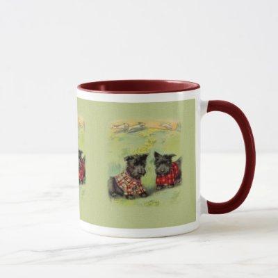 Vintage Scottish Terrier Coffee Mug