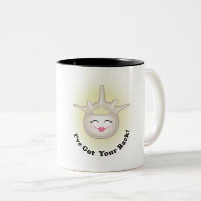 "Vivian Vertebrae ""I've Got Your Back!"" Coffee Mug"